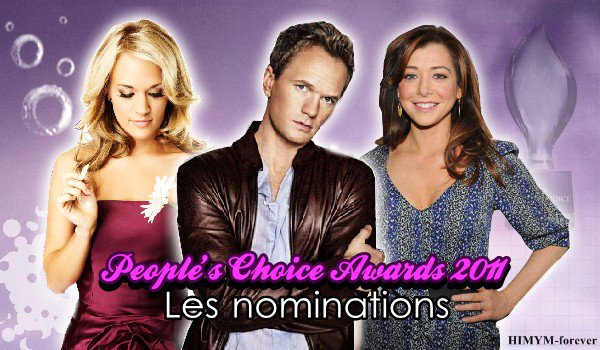 Nominations aux People's Choice Awards 2011
