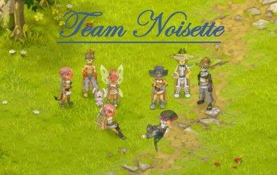 Présentation de la Team Noisette