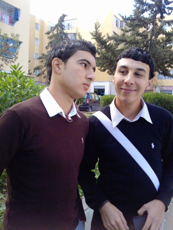 c moi avec mon meilleur ami  samir