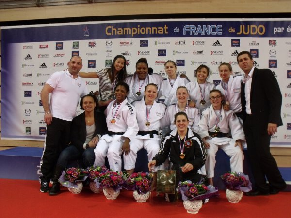 Judo : Mulhouse, Champion de France Dames