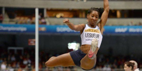 Athétisme : Lesueur, Championne du Monde...enfin