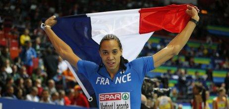 Athlétisme : Martinot-Lagarde et Darien médaillés sur 60m haies