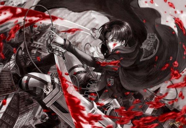 une image que j'adore de shingeki no kyojin