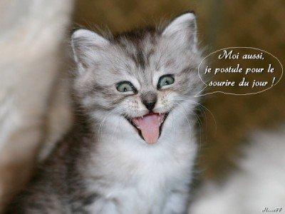 le sourire du jour