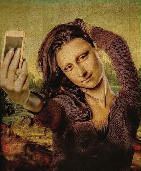Mona Lisa  et Vincent  Van Gogh