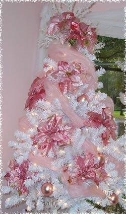 Noël en rose