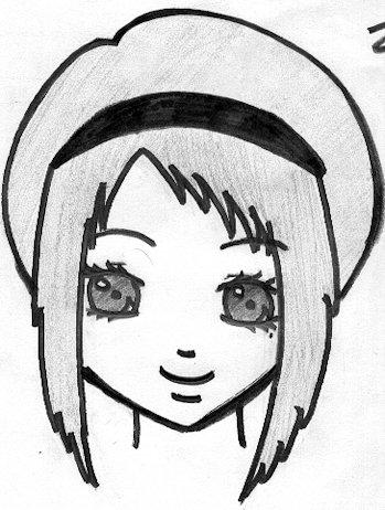 Fille Avec Un Bandeau Blog De Mangas Drawing94