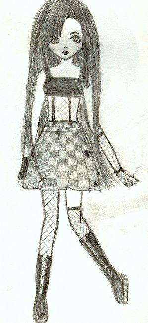Fille Gothique Blog De Mangas Drawing94