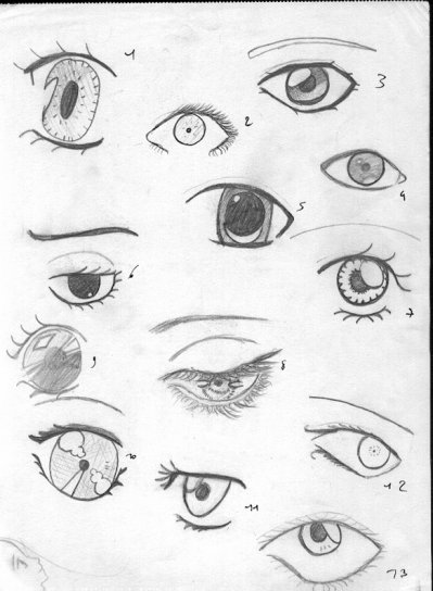 Yeux 3 Je Crois Blog De Mangas Drawing94