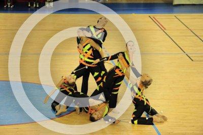 1ère au Grand national à Bordeaux en petite danse twirl sénior B