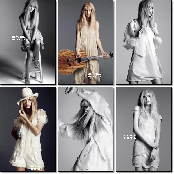 """Voici 2 nouvelles photos du photoshoot que Taylor a fait pour """"Journey to Fearless"""" ! Elles sont magnifiques, n'est-ce pas ? La deuxième photo est disponible comme poster à $5 ! Si vous voulez l'acheter, rendez vous ICI !"""