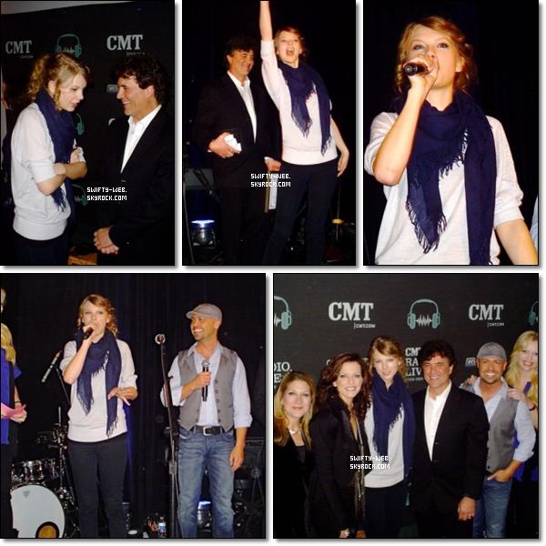 Le 4 mars, Taylor Swift était au CMT/Big Machine CRS Party à Nashville ! J'aime beaucoup sa tenue, ce n'est pas souvent qu'on la voit en pantalon ! C'est un TOP !