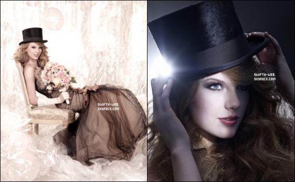 """Découvrez ou redécouvrez un shoot que Taylor a fait en 2008 pour """"Entertainment Weekly"""" ! Sublime, n'est-ce pas ? *-*"""