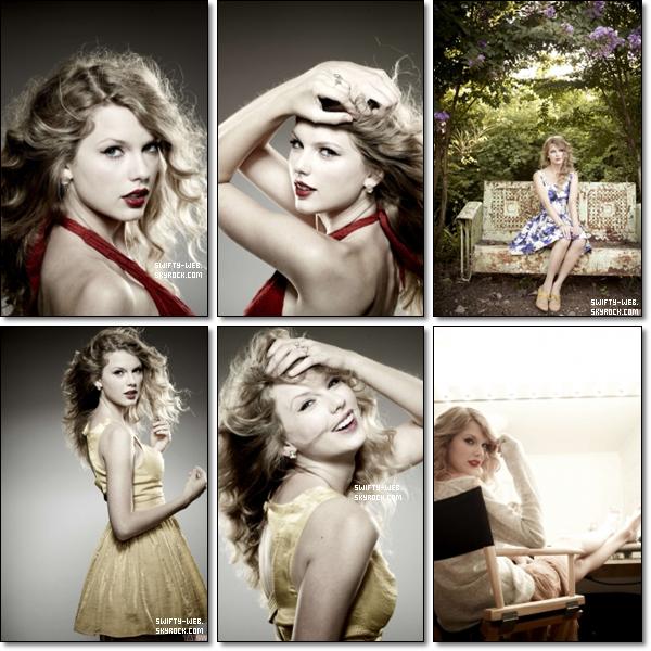 Découvrez ou redécouvrez un shoot que Taylor a fait en 2010 pour le magazine Parade ! Sublime, n'est-ce pas ?