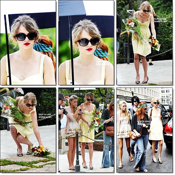 3/08/11 Taylor a été vue à Washington DC, à l'aéroport & dans un musée avec son équipe de tournée. Ils ont l'air de s'amuser ! Pour son look, c'est mignon je trouve ! Je lui accord un top !