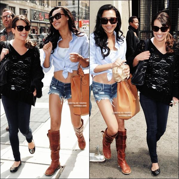 27/04/2011 | Léa et Naya ( Alias Santana ) dans les rues de New - York .. TOP OU FLOP ?