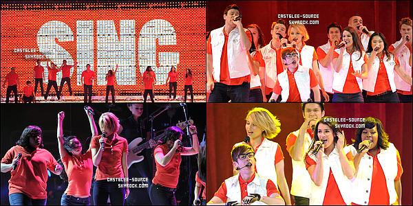27/05/2011 |  Le cast était en concert à Anaheim, en Californie.