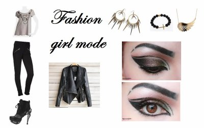 Le Look Rock And Girl