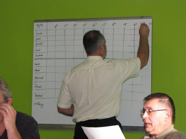REUNION DES ENTRAINEURS DU 31 MAI 2011