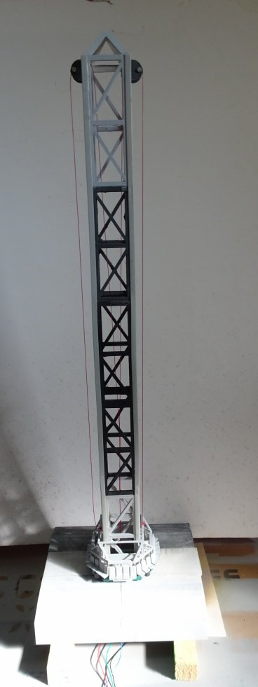 Power Tower echelle 1/43 motorisation nema 17 via arduino !