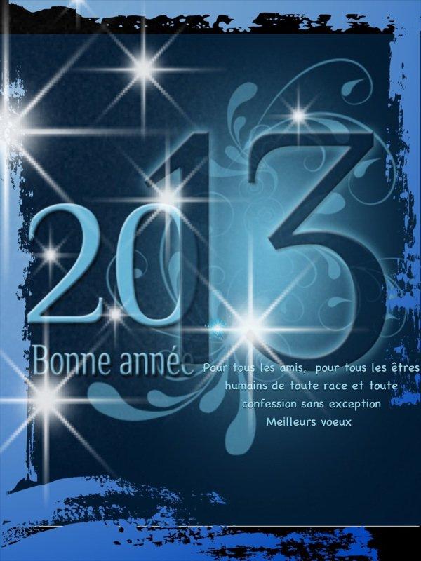 Bonne année les amis