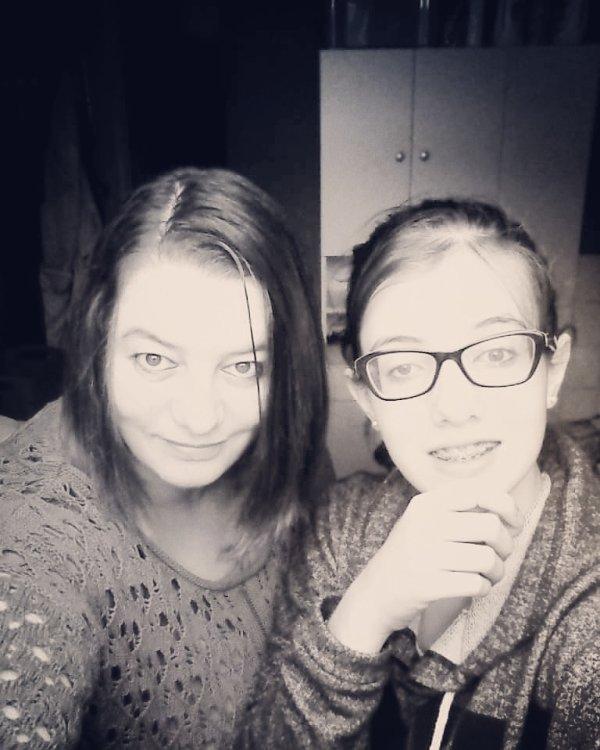 ma fille anya et moi