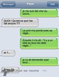 Conversation drôle ..