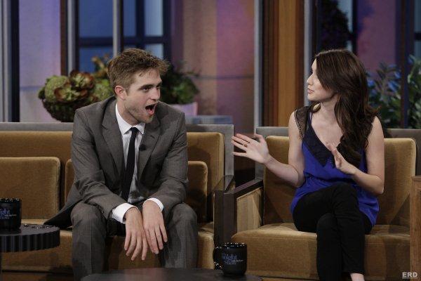 Rob Pattinson and Emma Roberts