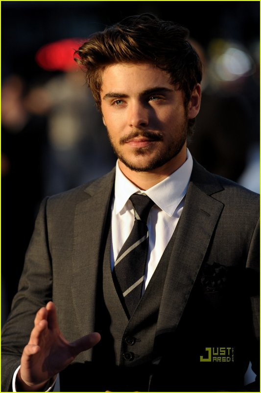 he just needed a litlle beard to no longer  look like his HSM caracter, Finally!
