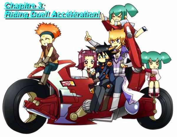 Chapitre 3: Riding Duel! Accélération!