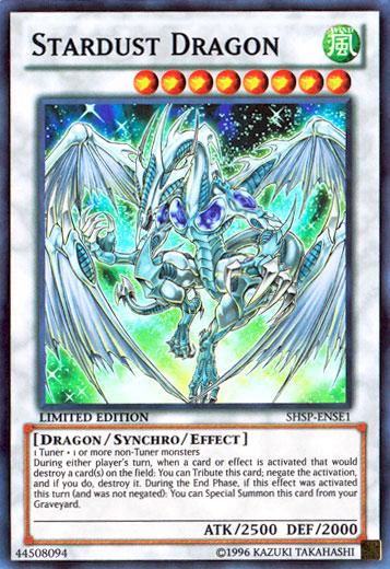 Stardust Dragon Vs Stardust Spark Dragon.