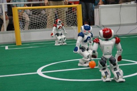 Chine La Coupe du monde de foot 2015 des robots