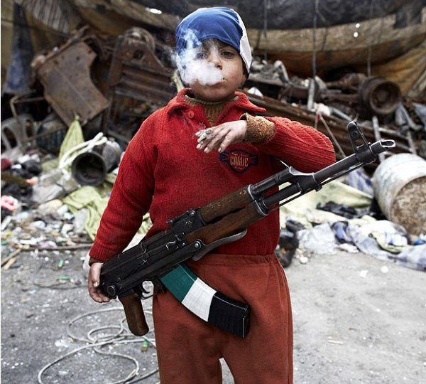L' enfant de la guerre .