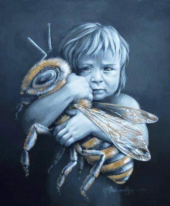 J'ai souvent entendu dire : lorsque toutes les abeilles auront disparues ,le monde disparaîtra. Alors, soyons raisonnables .protégeons la nature, chacun un petit peu fera un grand tout