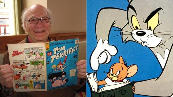 Disparition à 95 ans de Gene Deitch, l'un des dessinateurs de Tom & Jerry et Popeye