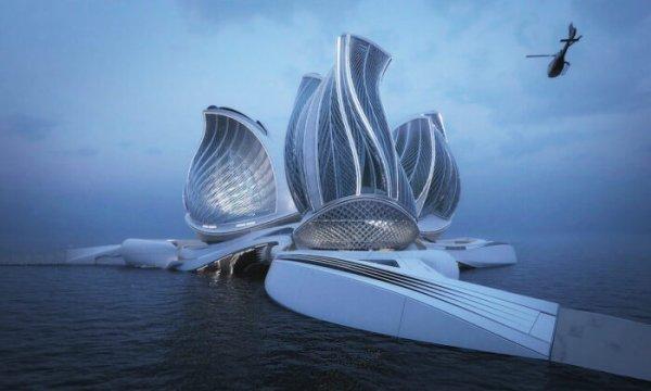 Une architecte imagine une station de recherche flottante époustouflante qui nettoie l'océan et exploite l'énergie marémotrice