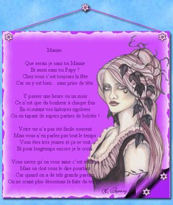 Poème Pour Une Mamie Formidable Moi Et Tt Le Reste