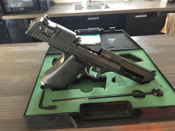 Arrivée d'un Desert Eagle en 357 Magnum