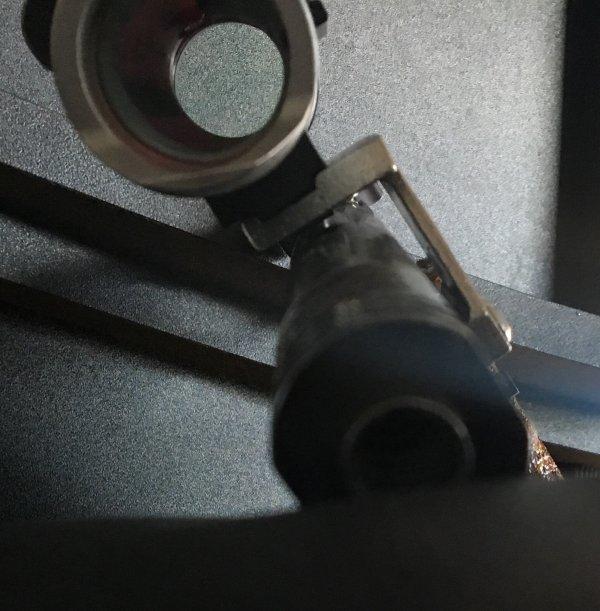 Refonte de la partie optique d'un pistolet de TSV