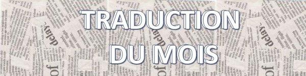 TRADUCTION DU MOIS