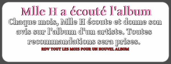 MLLE H A ECOUTE L'ALBUM