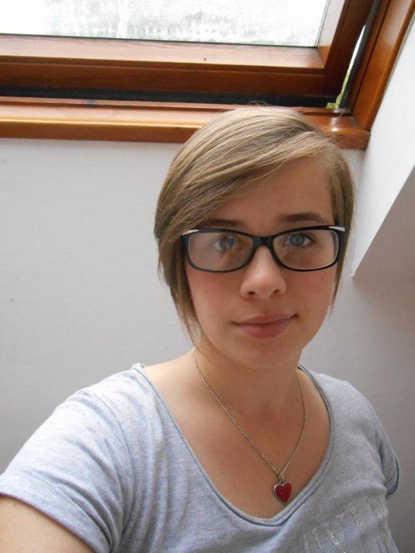 Moi et mes lunettes lol