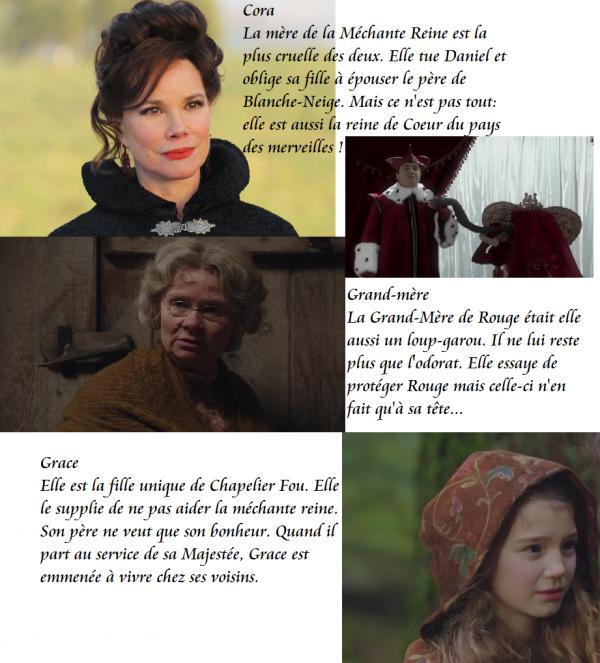 Cora, Grace, Reine de Coeur, Grand-Mère
