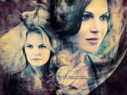 Fond d'écran : Emma et Regina