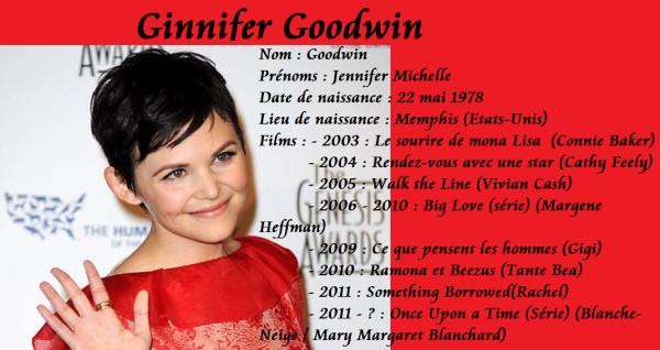 35 ans Ginnifer Goodwin
