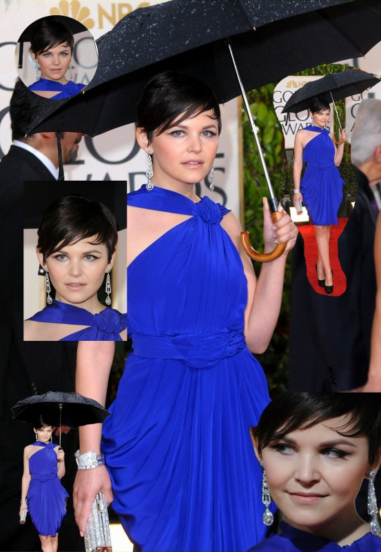 Ginnifer Goodwin : Golden globes 2010