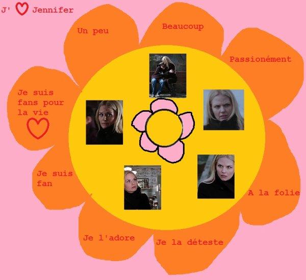 La fleur de la série : Jennifer Morrison