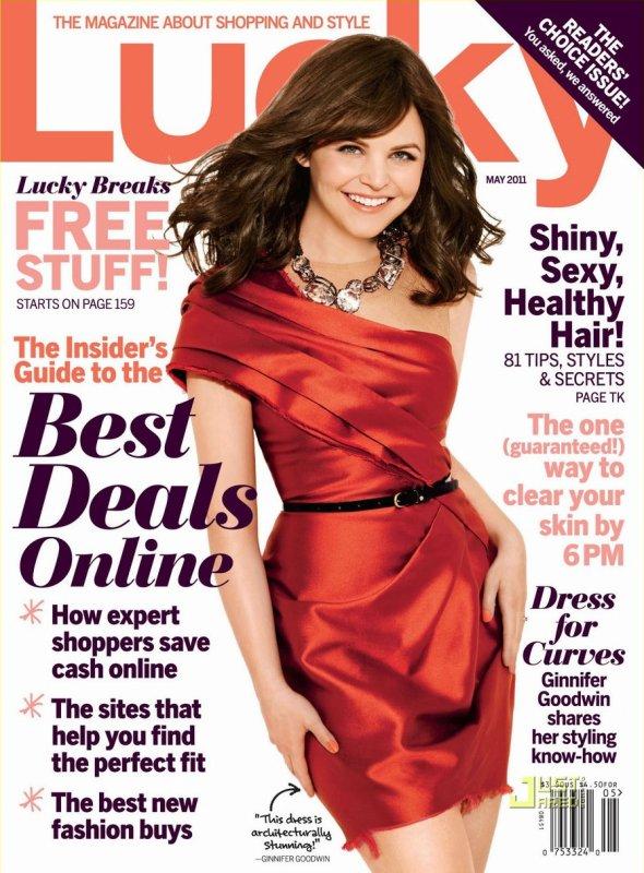 Ginnifer Goodwin : en mai 2011 dans le magazine Lucky