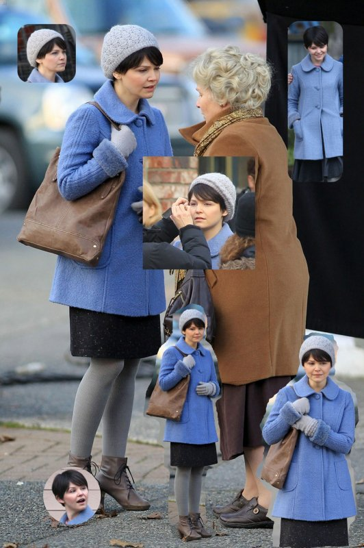 Ginnifer Goodwin : en 2011 pendant le tournage de Once Upon A Time