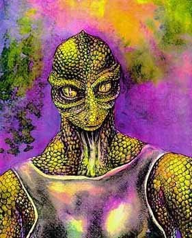 Extraterrestre : Reptiliens